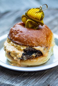 The ridiculously delicious Tinman burger, now available at BottleHouse Lakewood.