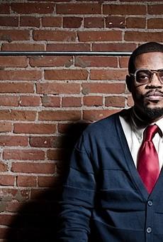 Hip-hop producer and jazz drummer Karriem Riggins