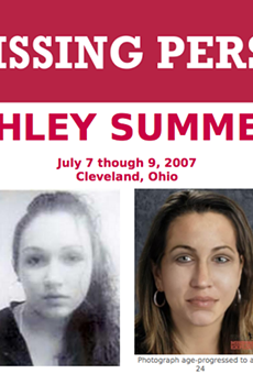 FBI's missing person poster for Ashley Summers