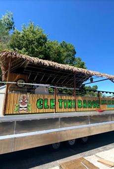 You and 29 of your closest friends can now take your tiki bar experience to the water