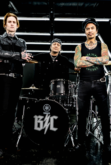 Veteran rockers Buckcherry.