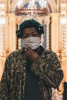 Local rapper Floco Torres.