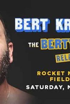 Poster for Bert Kreischer's upcoming Cleveland show.