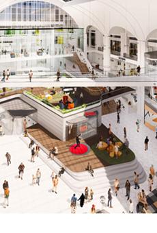 City Block conceptual rendering