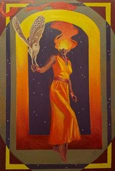 """Enchantress,"" by Ray Rodriguez"