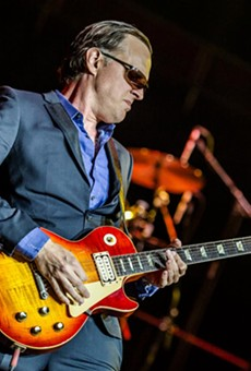 Singer-guitarist Joe Bonamassa.