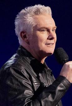 Comedian Brian Regan.