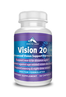 Vision 20 Reviews - Can Zenith Labs' Vision 20 Supplement Stop the Root Causes of Vision Loss? Customer Reviews!