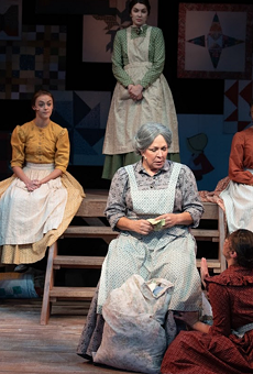 Come on down to Porthouse's production of Quilters