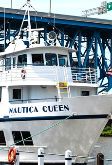 The Nautica Queen will set sail once again this weekend.
