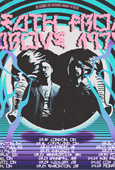Poster for Death From Above 1979's upcoming tour.