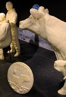 Butter sculptures are back even if the Ohio Fair isn't