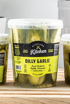 Cleveland Kitchen has rolled out a new fermented pickle product.