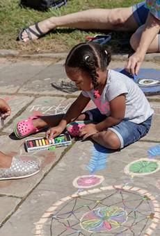 The Chalk Festival returns to CMA on Sept. 11.