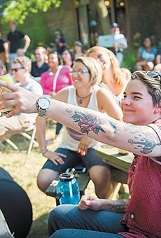Good times and smiles at the Waterloo Arts Fest