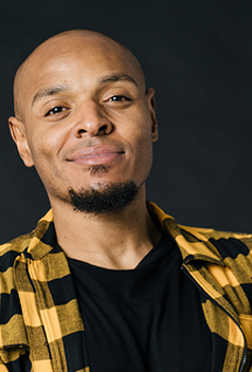 Comedian Tony Baker comes to the Improv this weekend.