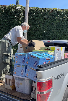 A donation drive rounded up plenty of supplies in recent weeks
