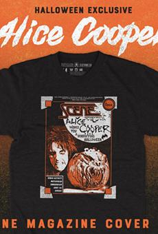 October's Scene shirt is seasonally appropriate