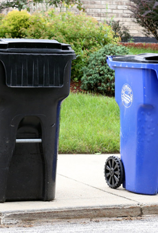 Recycling is back in Cleveland! Sort of!