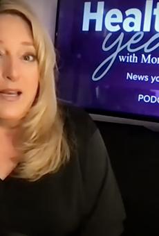 Monica Robins shares news on her health