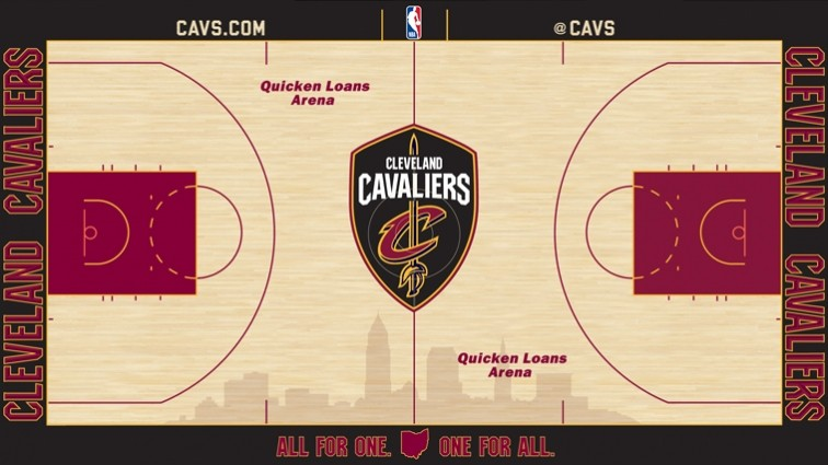 Cavs Unveil New Court Design for 2017-2018 Season | Scene and ...