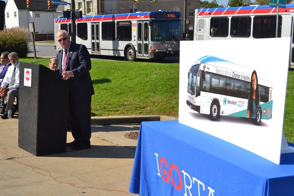 RTA's New MetroHealth Line (Route 51) Will Get Branded Buses