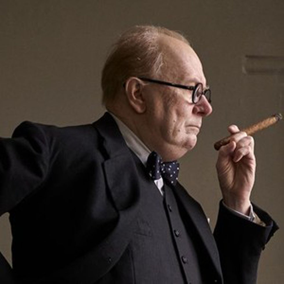 Gary Oldman shines brightly as Winston Churchill in 'Darkest Hour'