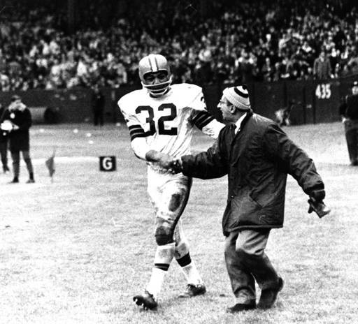 Jim Brown's final game at Cleveland Stadium, 1965. - PHOTO COURTESY CLEVELAND MEMORY PROJECT