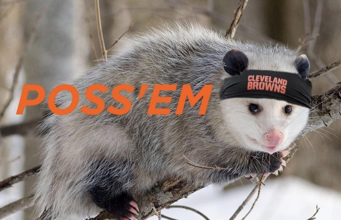 Cleveland Browns Rally Possum Mania Has Hit Critical Mass Scene And Heard Scene S News Blog