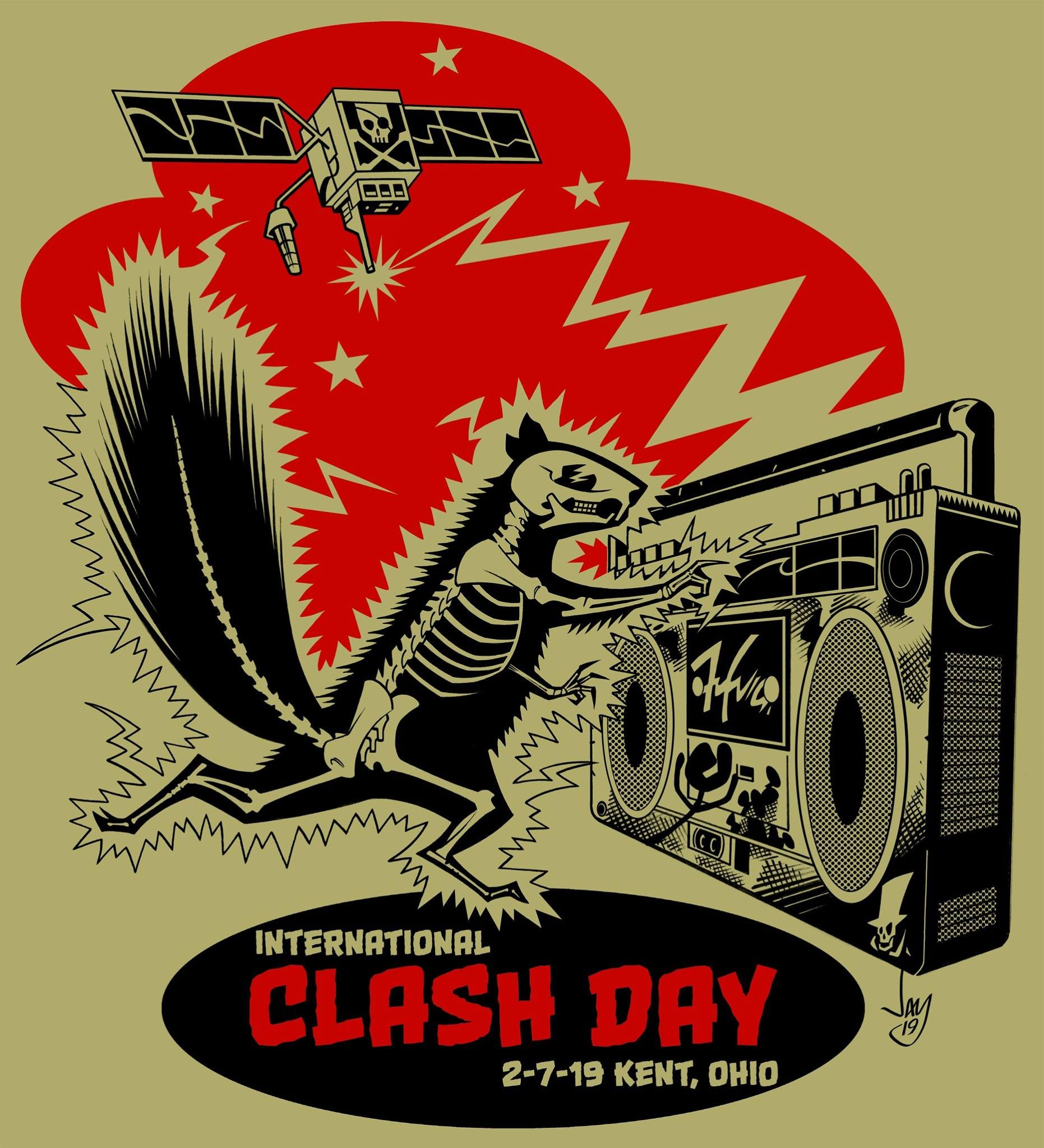 e50b2ad16309 Kent to Celebrate International Clash Day With an Array of Events ...