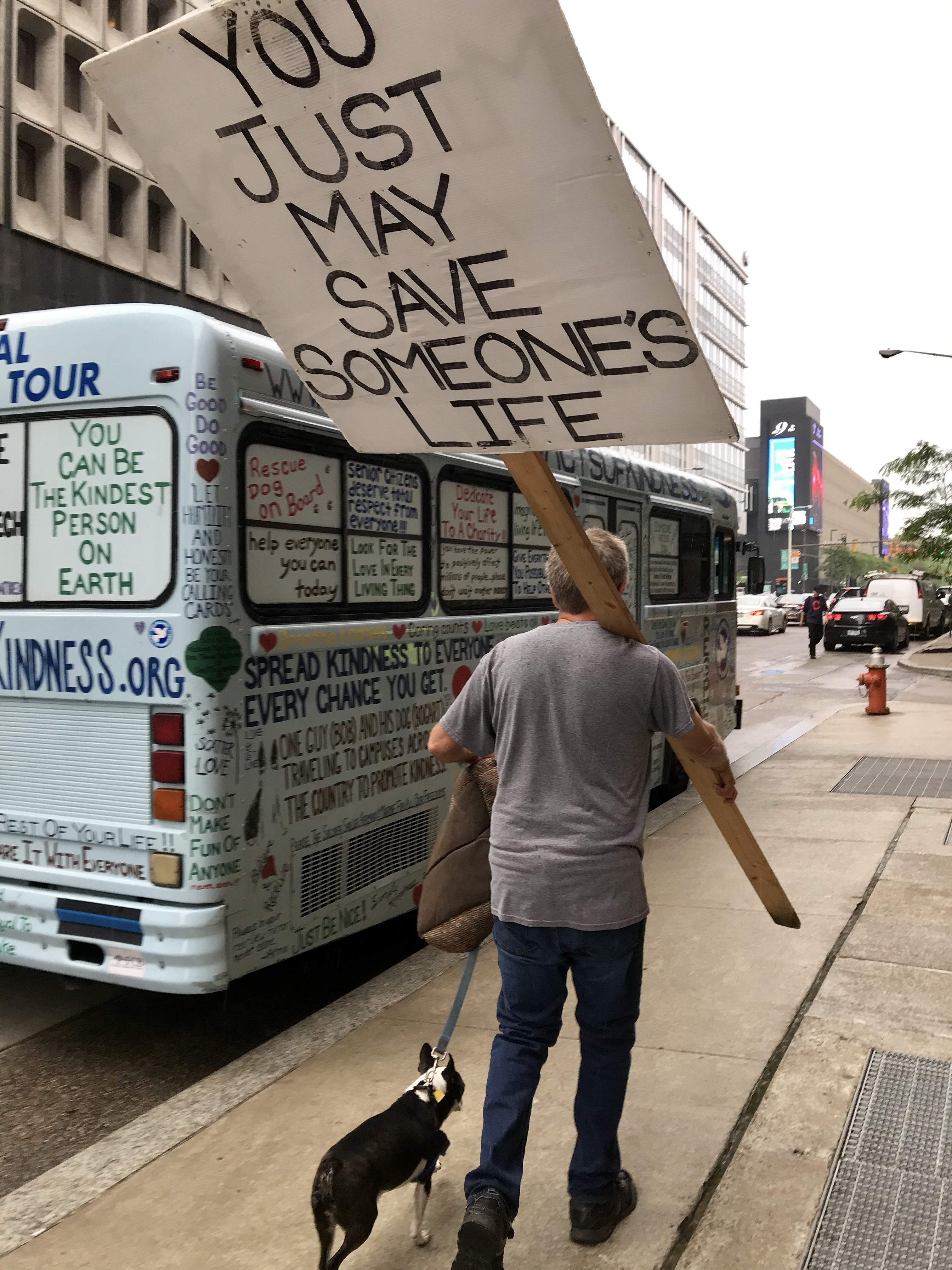 One Clevelander Spreads Kindness Across the Country, With
