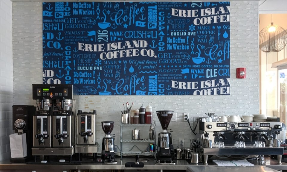 Erie Island Coffee Co. Opens New Shop on Euclid