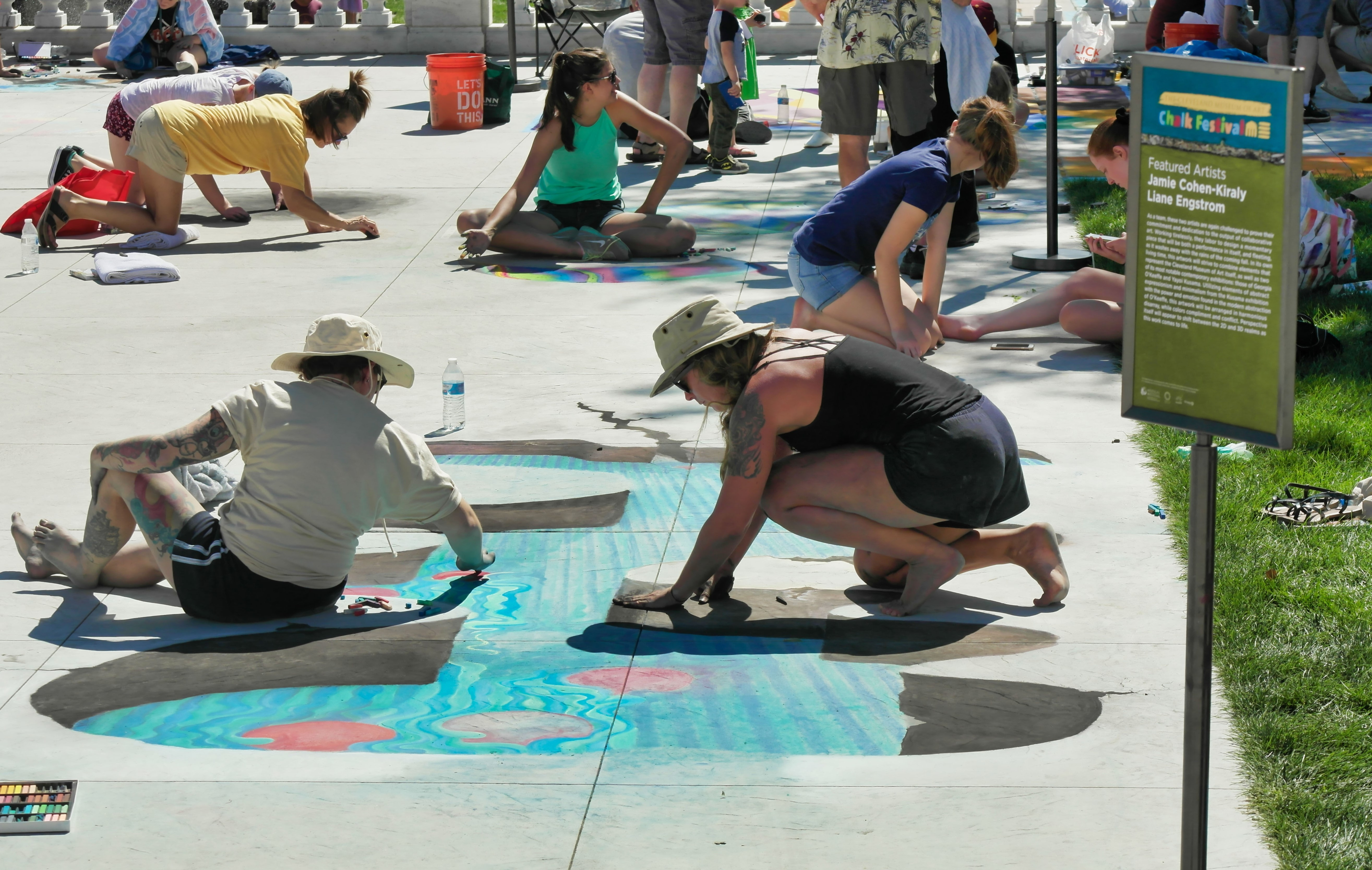 What You Need to Know About This Weekend's Chalk Festival at the Cleveland Museum of Art