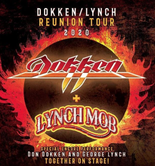 Lynch Park Halloween 2020 Dokken and Lynch Mob Coming to MGM Northfield Park — Center Stage