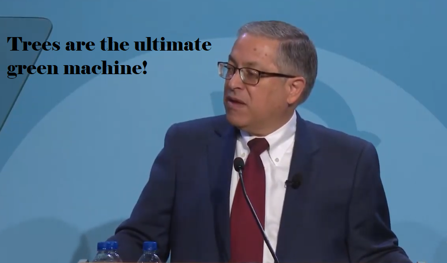 Armond Budish, delivering 2019 state of the county address - CITY CLUB SCREENGRAB