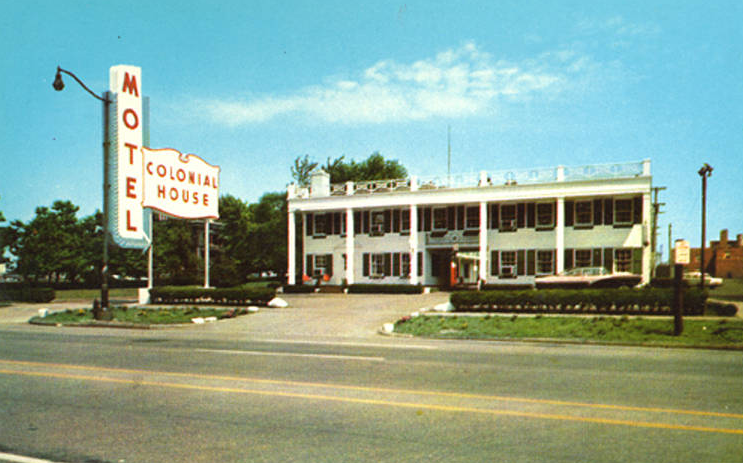 THE COLONIAL HOUSE MOTEL WHERE THE ANDREWS STAYED IN 1974/ CLEVELAND MEMORY PROJECT