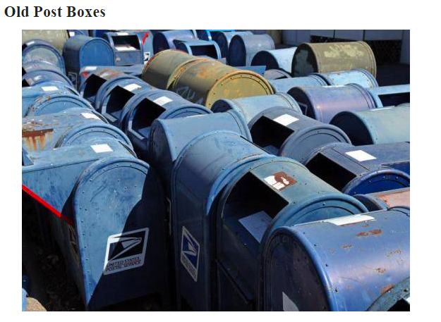 """Two Dozen """"Old Post Boxes"""" Just Appeared on Cleveland ..."""