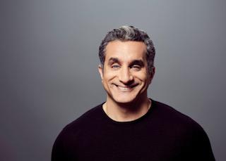 Egyptian comedian Bassem Youssef. - COURTESY OF JEFF ABRAHAM