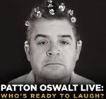 Poster art for Patton Oswalt's tour.