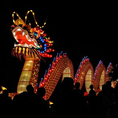 The Asian Lantern Festival in 2018 in Cleveland - RIDE LOCAL DREAM GLOBAL/FLICKRCC