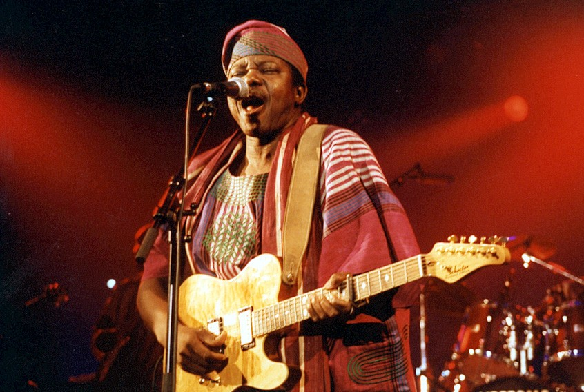 King Sunny Ade - COURTESY OF MONTEREY INTERNATIONAL