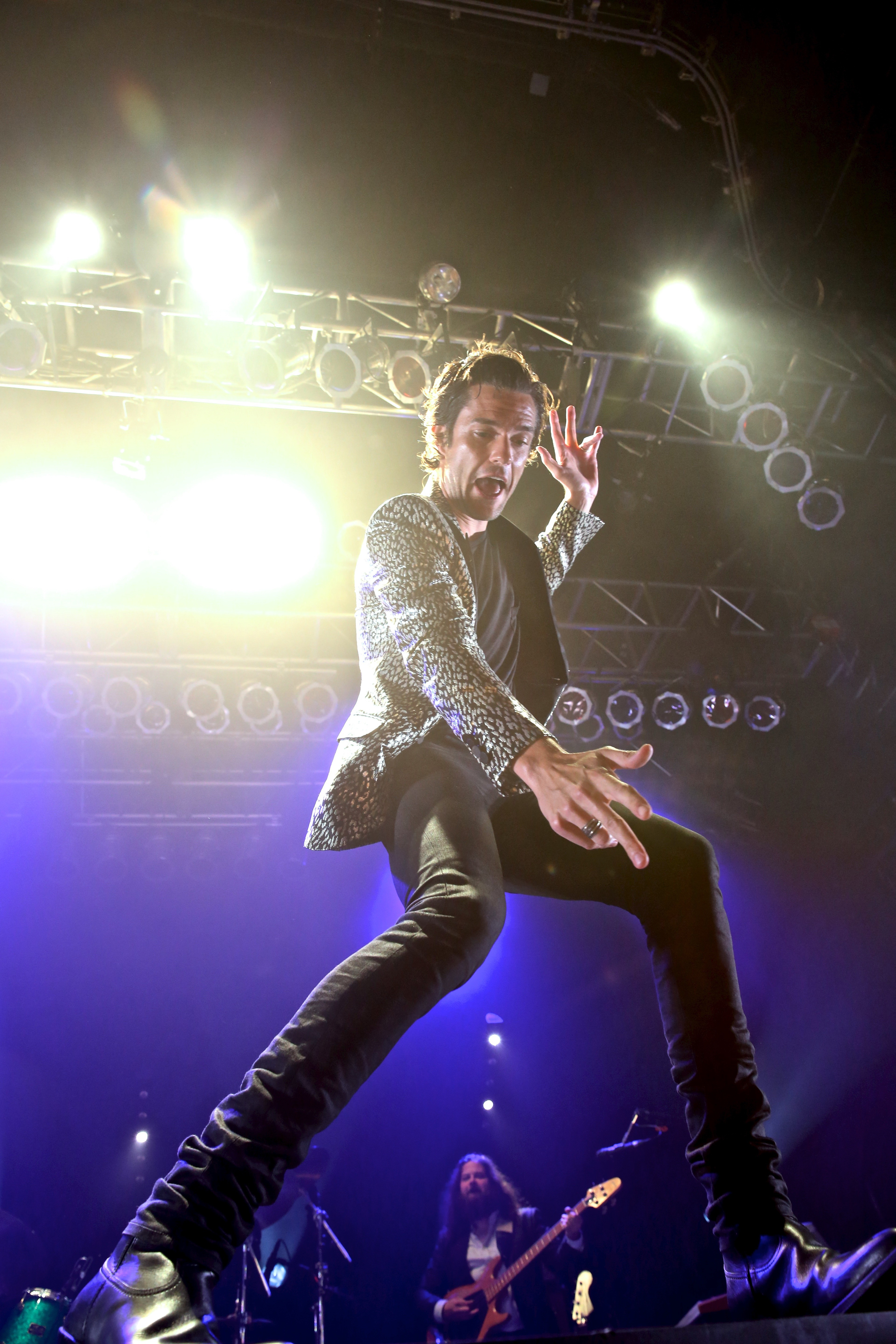 Brandon Flowers Thrives on Au nce s Energy at House of Blues