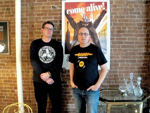 SMOGVEIL'S NICK BLAKEY (LEFT) AND FRANK MAUCERI ARE THE ARCHITECTS BEHIND A NEW REISSUE CAMPAIGN.