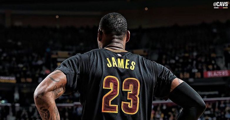 PHOTO COURTESY OF @CAVS ON INSTAGRAM