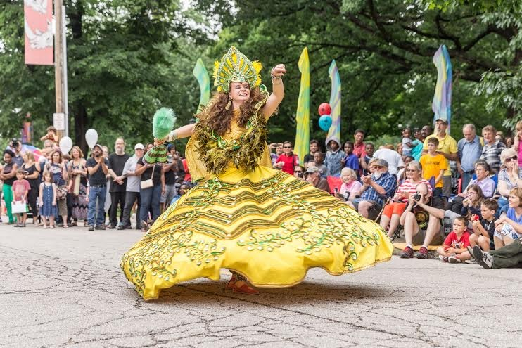 Parade the Circle 2015. Image by David Brichford, courtesy of the Cleveland Museum of Art.