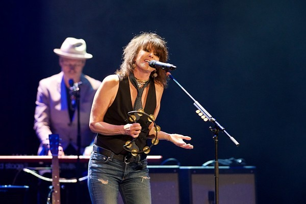 Chrissie Hynde will be back in her city next month. - SCOTT SANDBERG