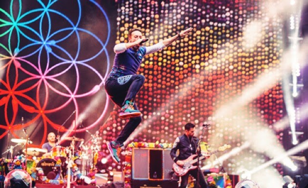 Coldplay makes a summer date at MetLife Stadium