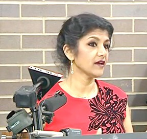 Hamilton County coroner Lakshmi Sammarco