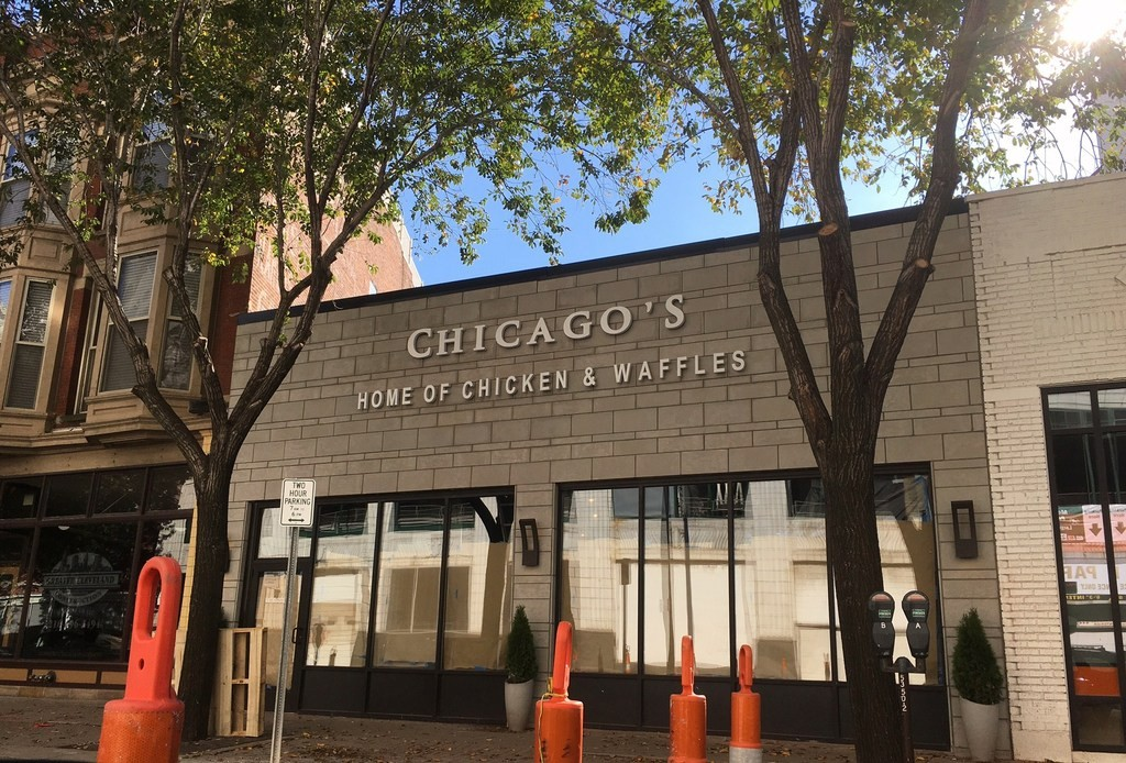 Now Open Chicago S Home Of Chicken Waffles Scene And