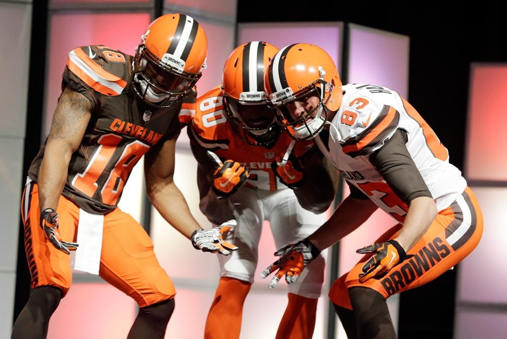 e8ccc75d1 The Browns Already Hate Their New Uniforms